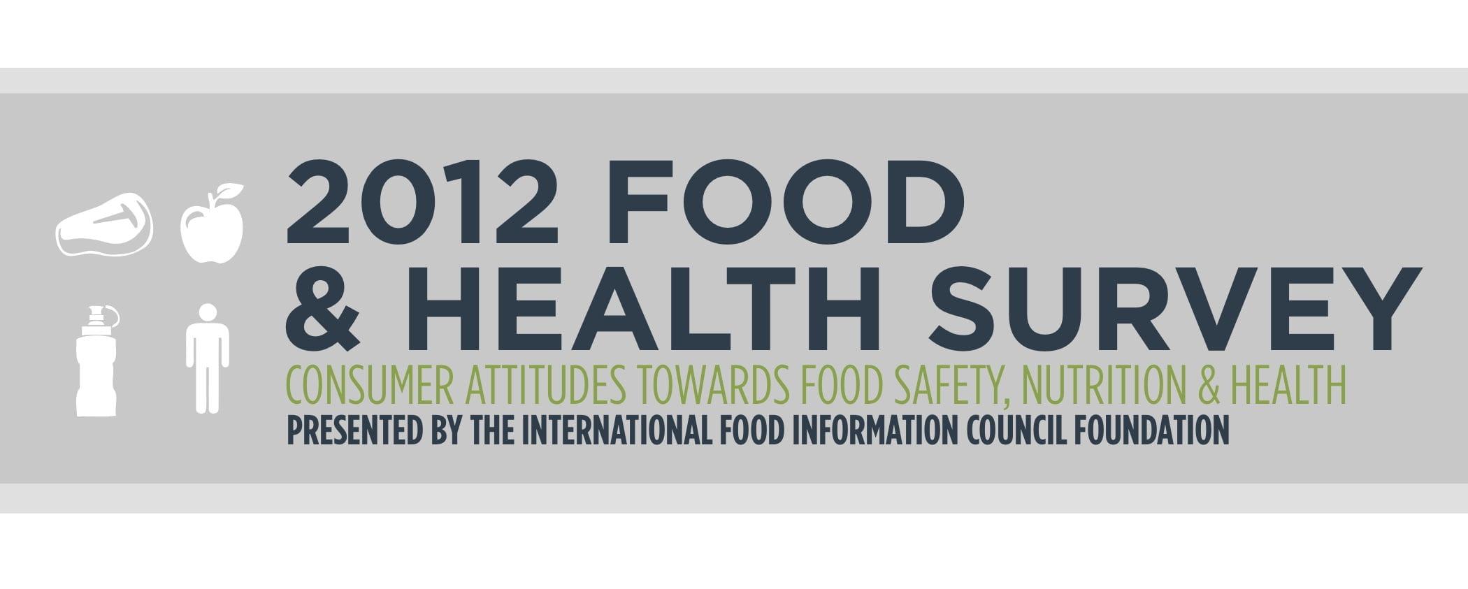 2012 Food & Health Survey: Consumer Attitudes toward Food