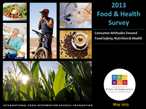 2013 Food and Health Survey Cover