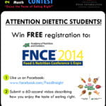 National Nutrition Month Video Contest