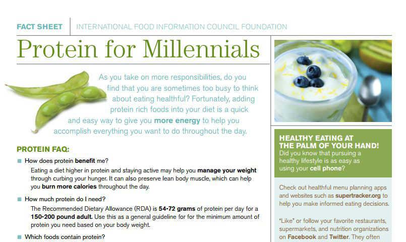 Protein for Millennials screenshot