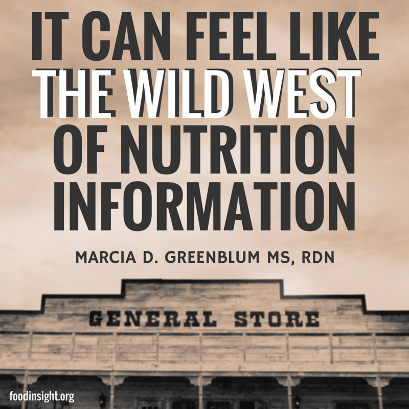 wild-west-of-nutrition-information