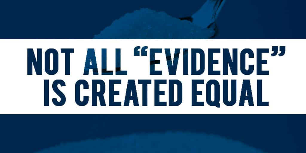 not-all-evidence-created-equal