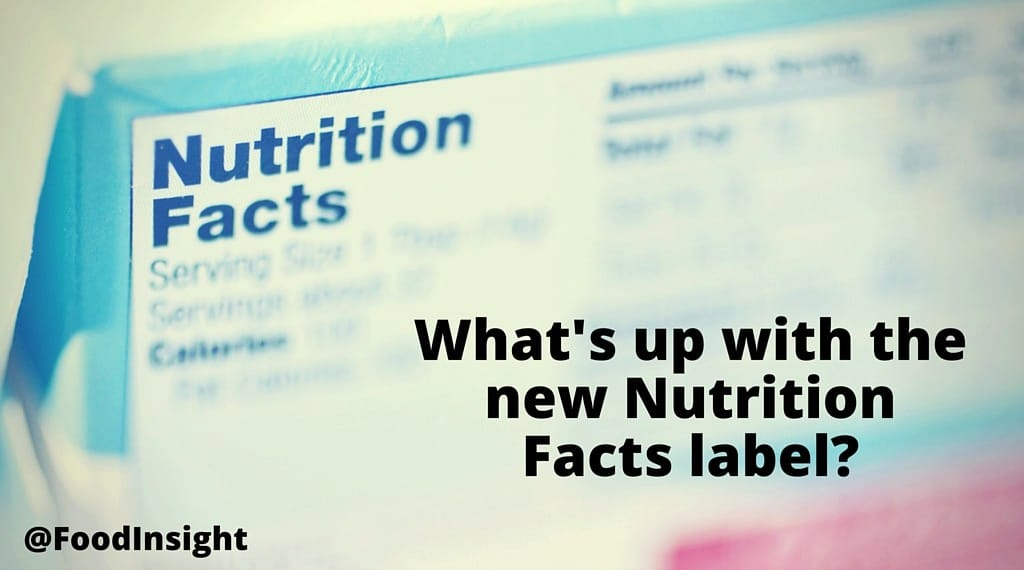 Your Guide To The Updated Nutrition Facts Label International Food Information Council