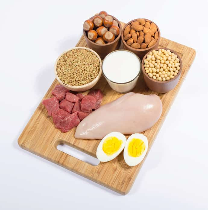 different options for protein