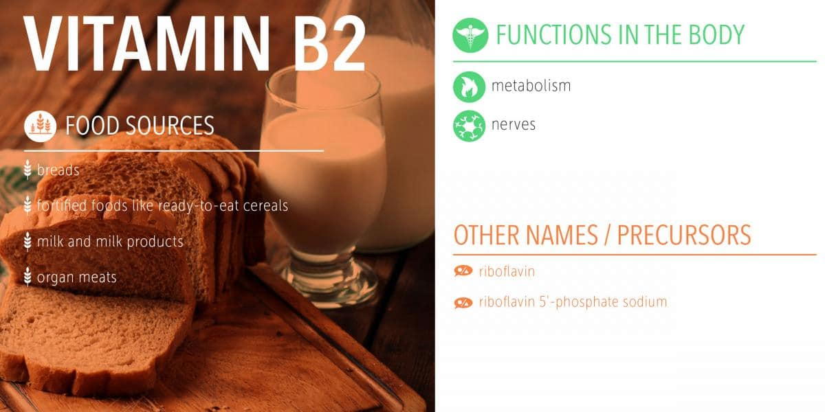 vitamin b2 food sources