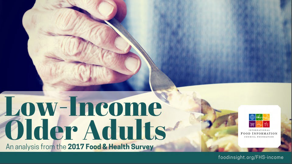 low-income older adults an analysis from the 2017 food and health survey